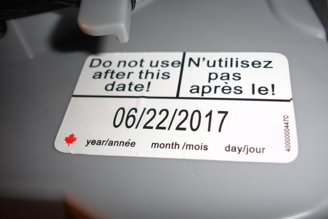 Canada Car Seats Expire